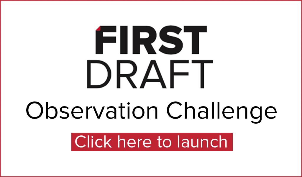 first draft observation challenge