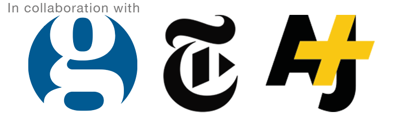 In Collaboration with Guardian, The New York Times and AJ+