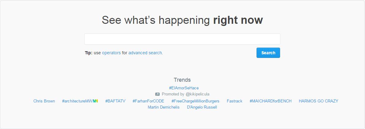 search twitter crop