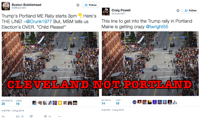trump fake crowd 2