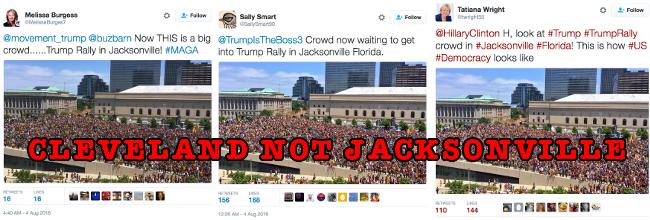 trump fake crowds