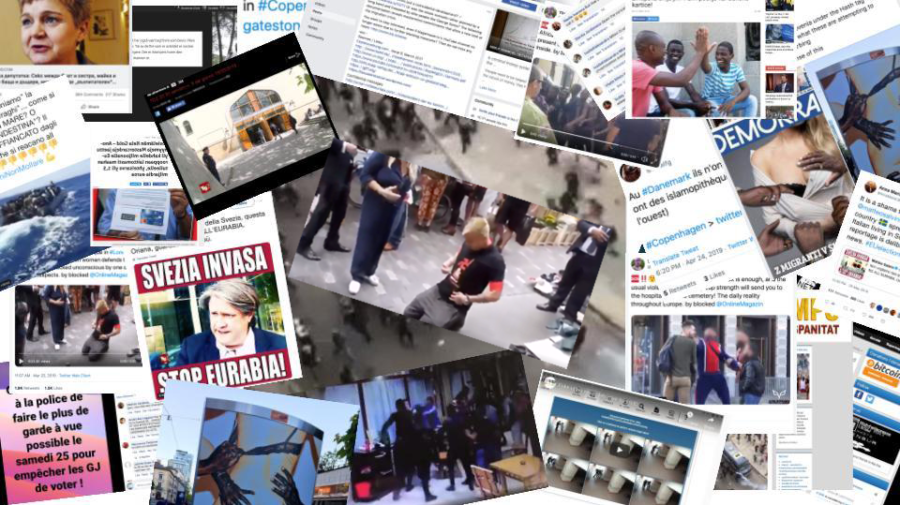 A collage of information disorder during the 2019 European elections