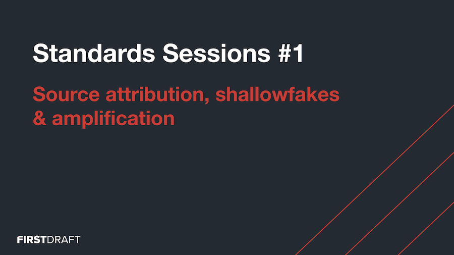 Graphic title Standards sessions 1
