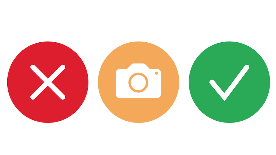 Guide pour la vérification visuelle des photos